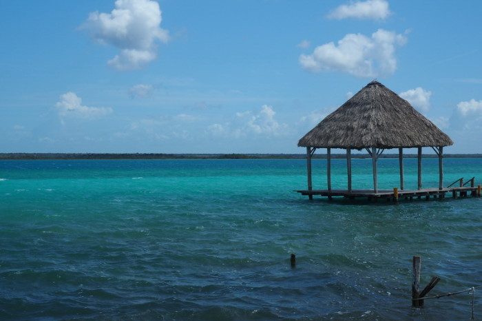Mexican Road Trip - Stunning Laguna Bacalar (Lake of Seven Colours),  Quintana Roo, Mexico