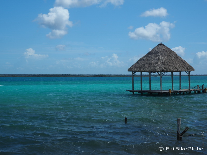 Stunning Laguna Bacalar (Lake of Seven Colours),  Quintana Roo, Mexico