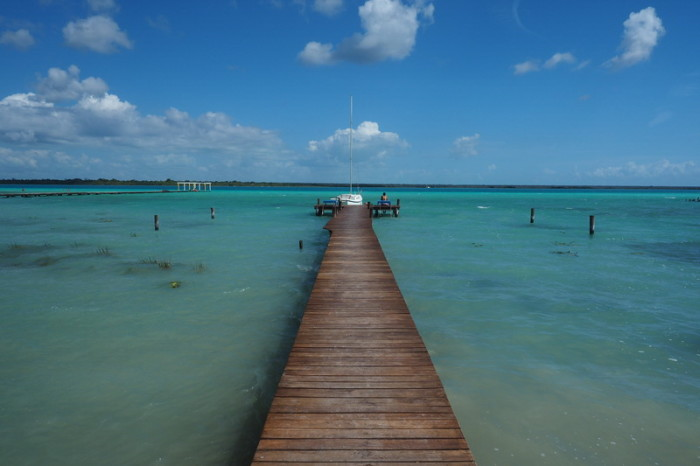 Mexican Road Trip -  Laguna Bacalar (Lake of Seven Colours),  Quintana Roo, Mexico