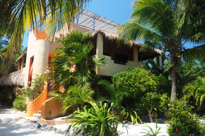 Mexican Road Trip - We LOVED this place! This was our villa (on the top floor!!!) Mayan Beach Garden, near Mahahual, Quintana Roo, Mexico
