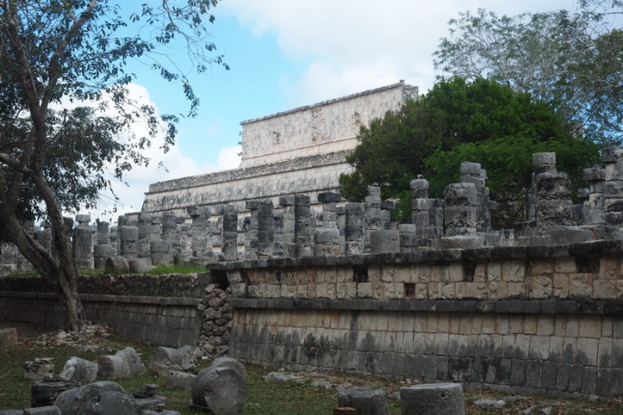 Mexican Road Trip - Templo de los Guerreros (Temple of the Warriors), Chichen Itza, Yucatan, Mexico
