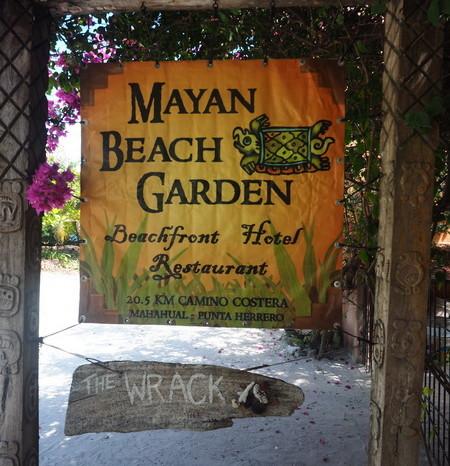 Mexican Road Trip - Mayan Beach Garden, near Mahahual, Quintana Roo, Mexico
