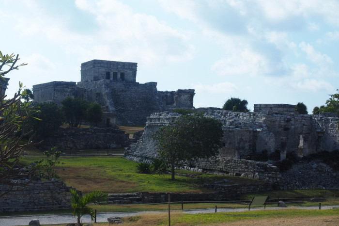 Mexican Road Trip - Pyramid El Castillo (The Castle), Tulum, Quintana Roo, Mexico
