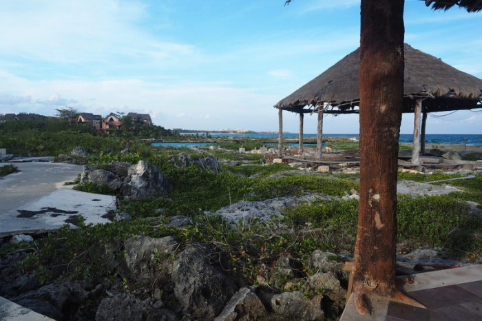 Mexican Road Trip - The ruined hotel complex. Quintana Roo, Mexico.