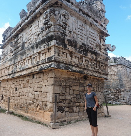 "Mexican Road Trip - ""La Iglesia"" in the Las Monjas complex, Chichen Itza, Yucatan, Mexico"