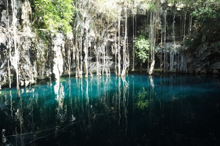 Mexican Road Trip - The magical Yokdzonot Cenote, Yokdzonot, Yucatan, Mexico