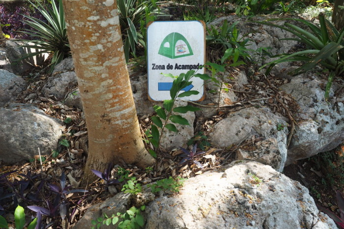 Mexican Road Trip - The Yokdzonot Cenote & Ecological Park also has camping! Yokdzonot, Yucatan, Mexico
