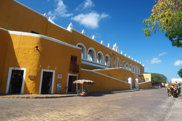 Mexican Road Trip - The San Antonio Monastery, Izamal, Yucatan, Mexico