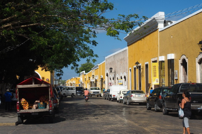 "Mexican Road Trip - The tranquil ""Yellow and White"" streets of Izamal, Yucatan, Mexico"