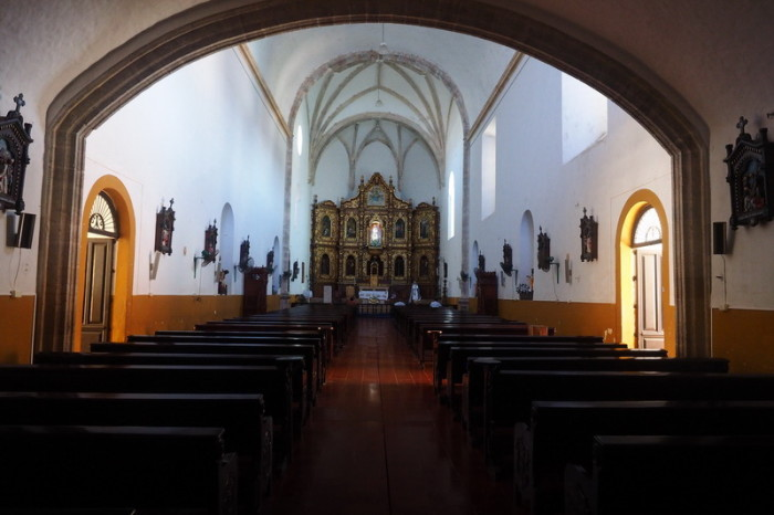 Mexican Road Trip - Inside the San Antonio Monastery, Izamal, Yucatan, Mexico