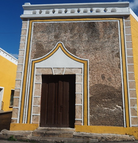 Mexican Road Trip - Beautiful doorway, Izamal, Yucatan, Mexico