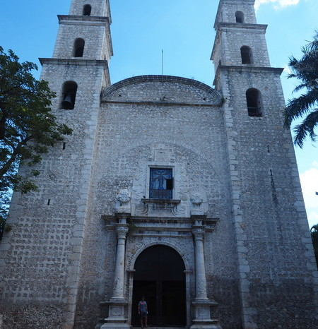 Mexican Road Trip - Church of Jesus (Iglesia de Jesús), Merida, Yucatan, Mexico