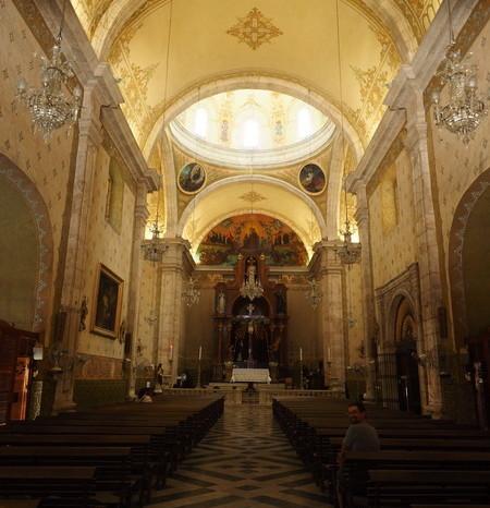 Mexican Road Trip - Inside the Iglesia de Jesús, Merida, Yucatan, Mexico