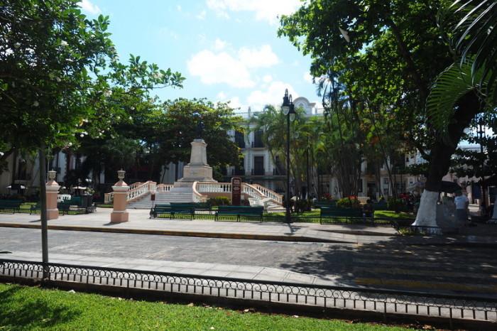 Mexican Road Trip - Hidalgo Park, Merida, Yucatan, Mexico
