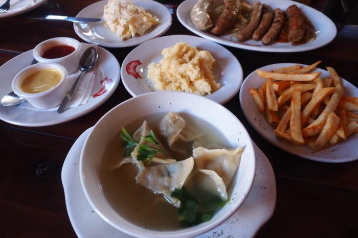 Mexican Road Trip - Our German feast at La Bierhaus in Merida!