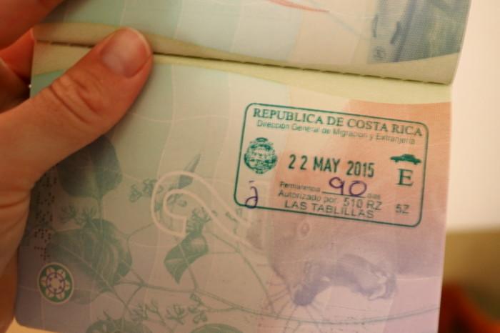 Costa Rica - Woo hoo - new stamp!