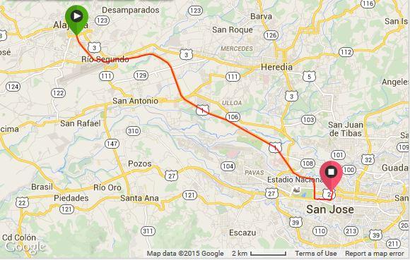 Alajuela - San Jose