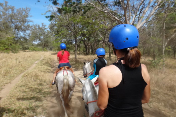 Costa Rica - Our One Day Adventure Tour started with horse riding, Rincón de la Vieja, Guanacaste, Costa Rica