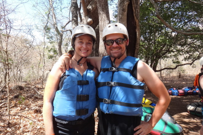 Costa Rica - Next up was tubing down the Rio Negro! One Day Adventure Tour, Rincón de la Vieja, Guanacaste, Costa Rica