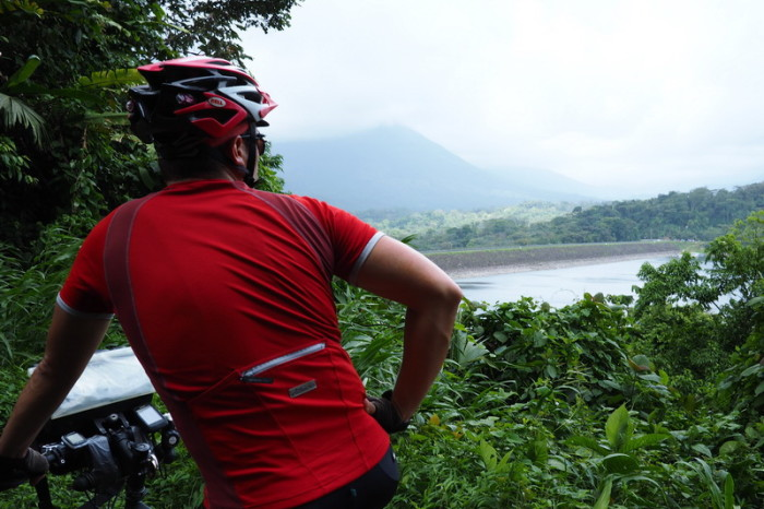 Costa Rica - Cycling around Laguna de Arenal to Nuevo Arenal, Costa Rica