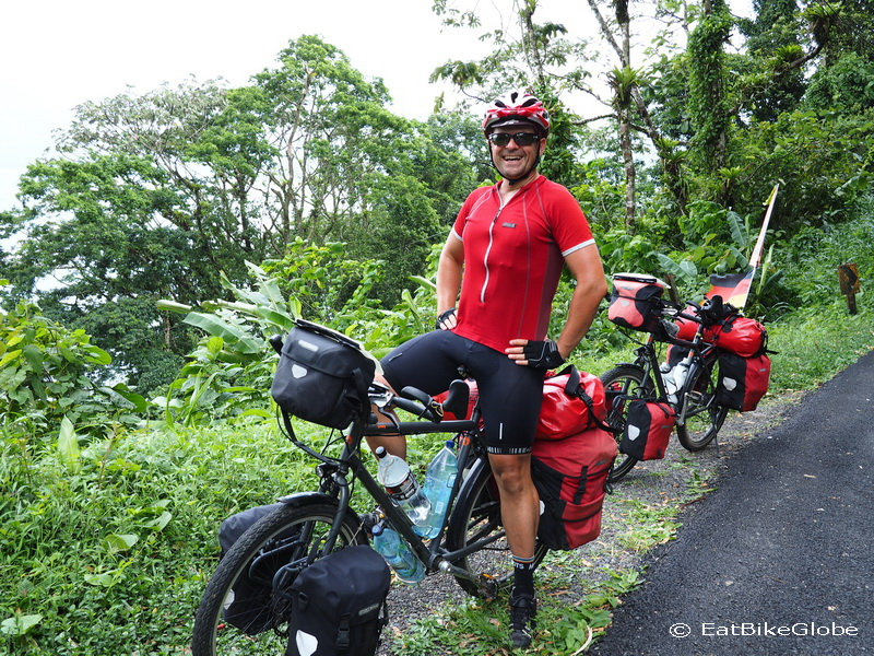 Cycling around Laguna de Arenal to Nuevo Arenal, Costa Rica
