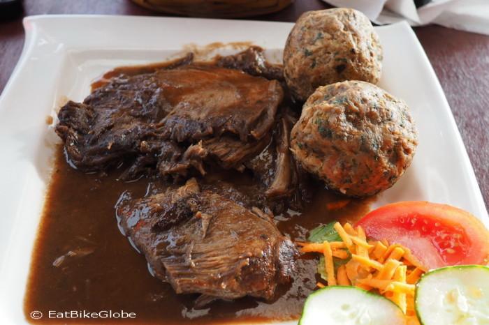 Costa Rica - Jo's favourite Sauerbraten, German Bakery, Nuevo Arenal, Costa Rica