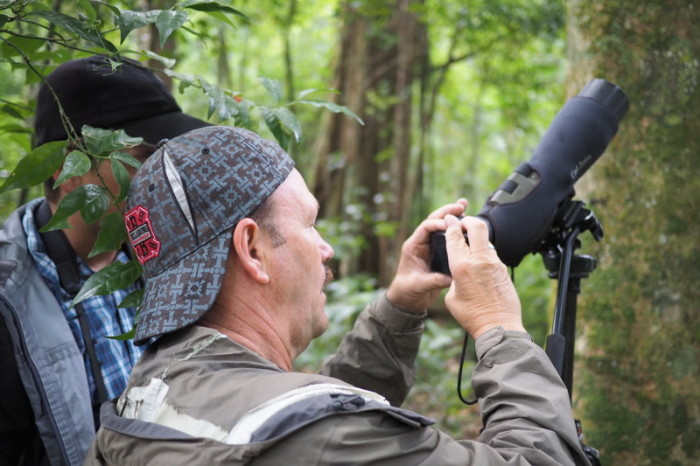 Costa Rica - Our bird watching guide, Adrian, Curi-Cancha Reserve, near Monteverde, Costa Rica