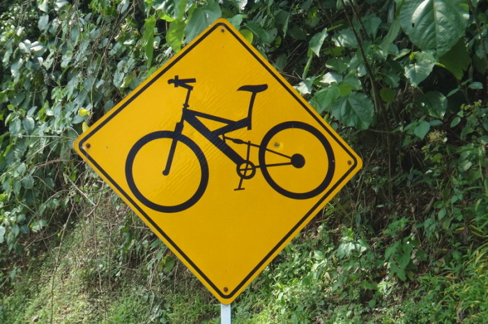 Colombia - Look out for cyclists! Colombia is super bike friendly