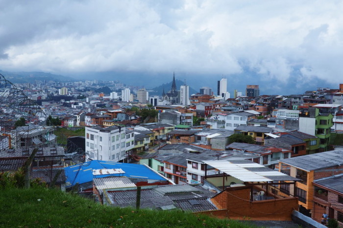 Colombia - View from the Iglesia de Chipre, Manizales