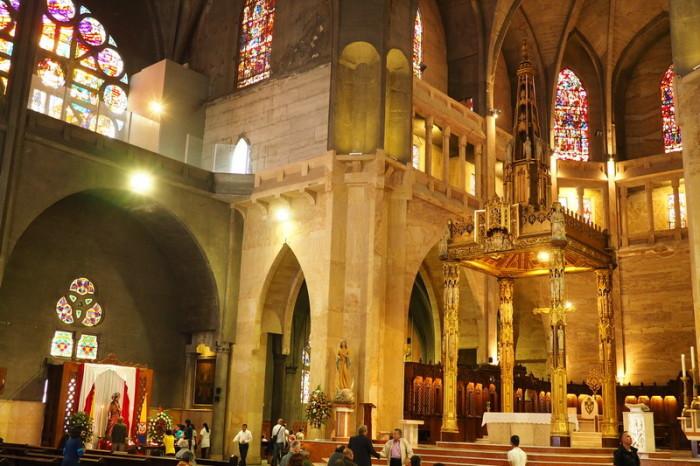 Colombia - Inside the Catedral Basilica Nuestra Señora del Rosario, Manizales