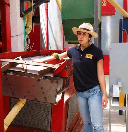 Colombia - Touring the processing plant, Hacienda Venecia, near Manizales