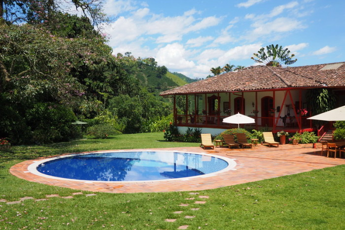 Colombia - The Guest House, Hacienda Venecia, near Manizales