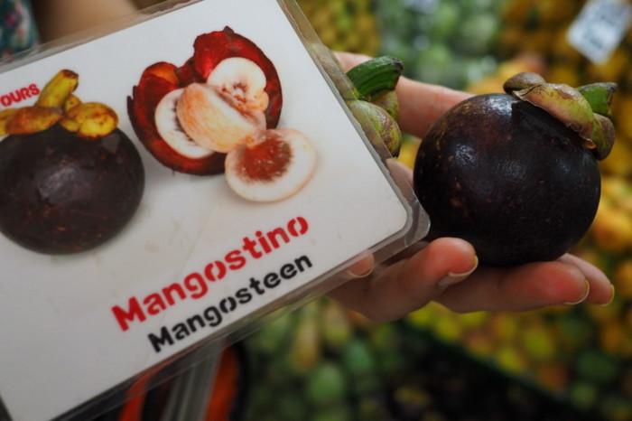 Colombia - Mangostino = Mangosteen