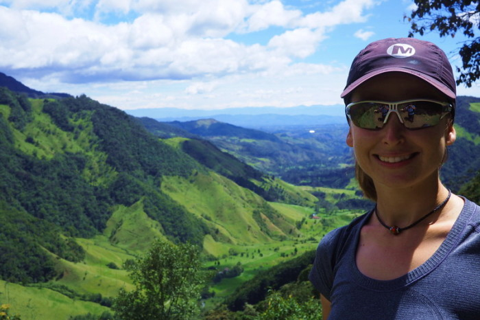 Colombia - Beautiful views while hiking through the Valley de Cocora