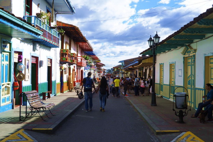 Colombia - The colourful streets of Salento
