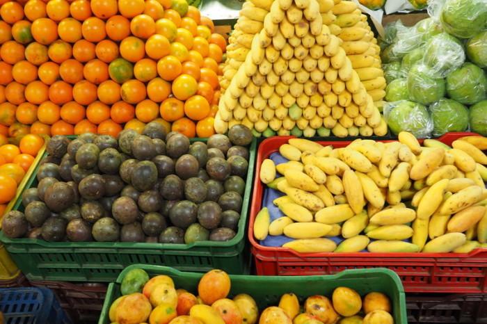 Colombia - Passionfruit at Minorista Market, Medellin