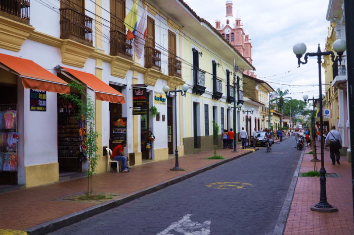 Colombia - Historic streets of Buga