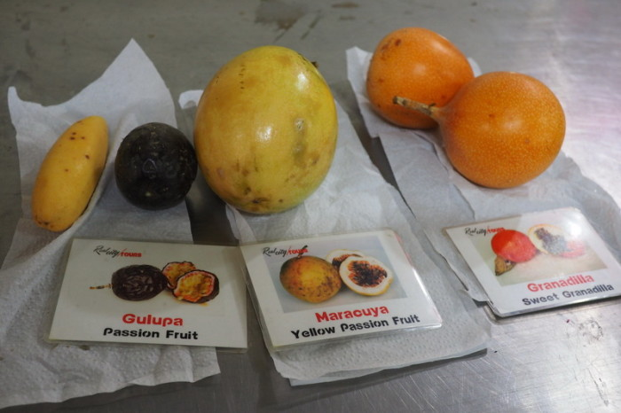 Colombia - There are 4 different kinds of passionfruit in Colombia!