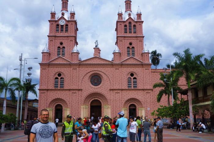 Colombia - Señor de los Milagros Basilica in Buga