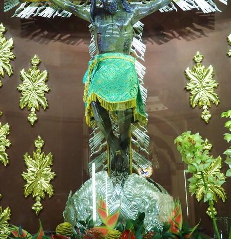 Colombia - Inside the Señor de los Milagros Basilica, Buga