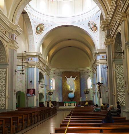 Colombia - Inside the Catedral Basílica Nuestra Señora de la Asunción, Popayan