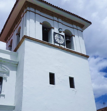 Colombia - Clock Tower, Popayan