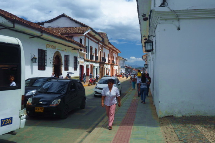 "Colombia - Historic streets of Popayan - the ""White City"""
