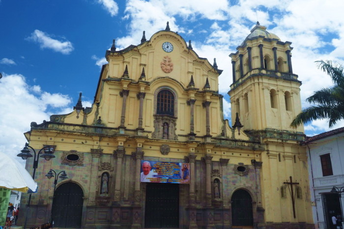 Colombia - Iglesia San Francisco, Popayan