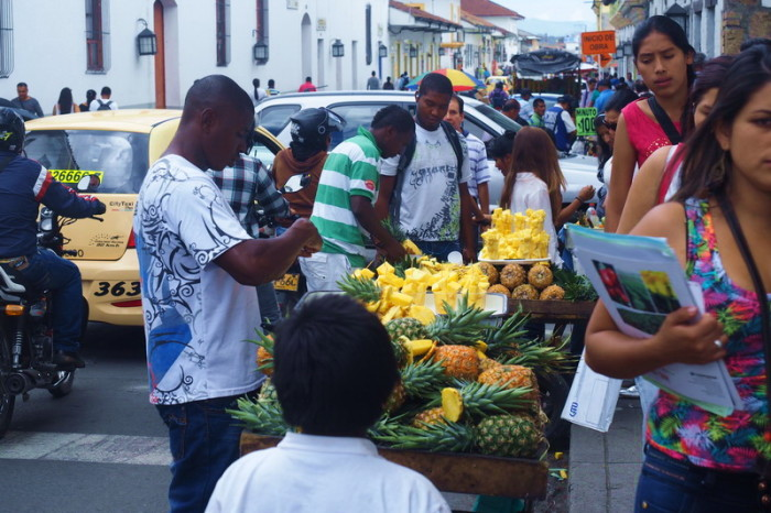 Colombia - Pineapple anyone? Popayan