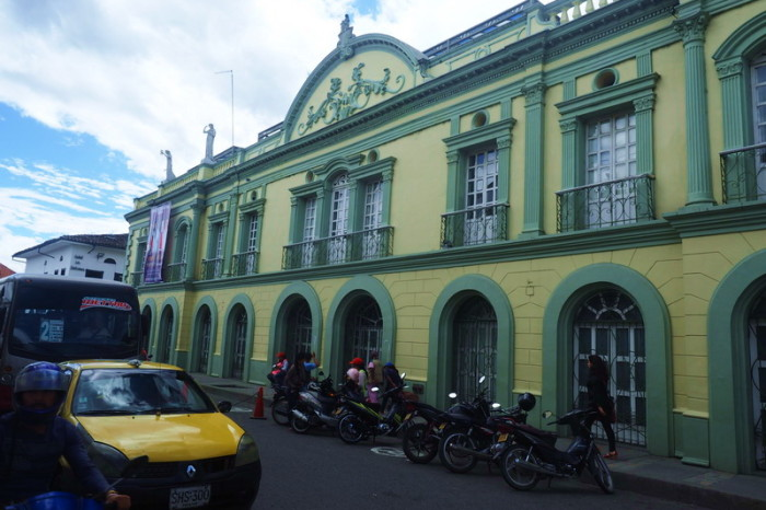 Colombia - Beautiful historic architecture in Popayan