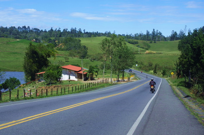 Colombia - On the way to El Bordo