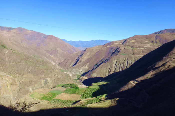 Colombia - Views on the way to Pasto