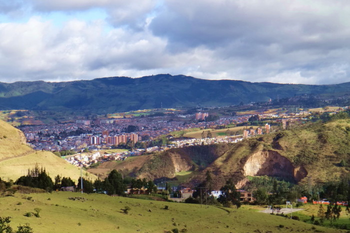 Colombia - Our first glimpse of Pasto
