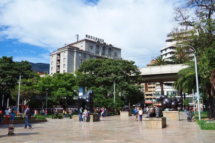 Colombia - Plaza Botero, Medellin